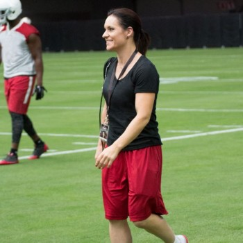 Jen Welter Breaks Barriers and Inspires as the NFL's First Female Coach