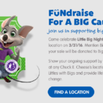 Chuck E. Cheese Big Brothers Big Sisters Fundraiser & Giveaway