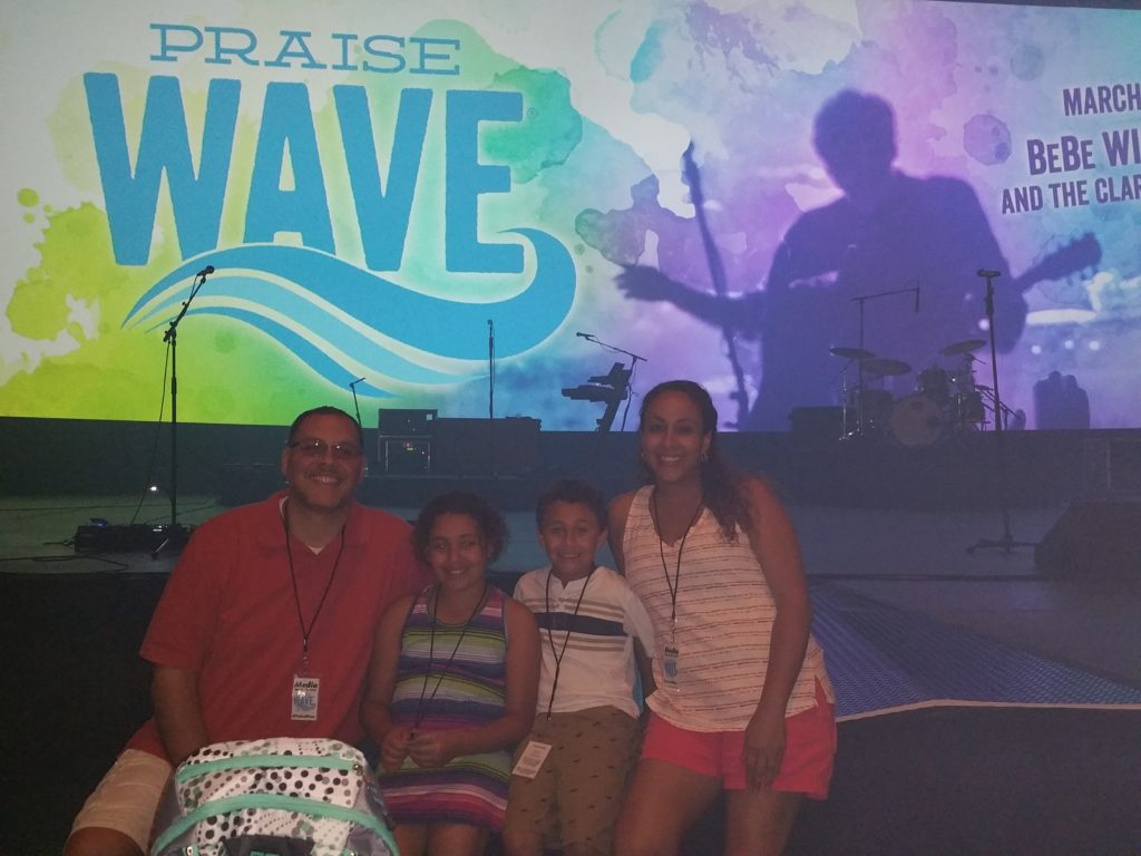 Fernandez Family at Praise Wave