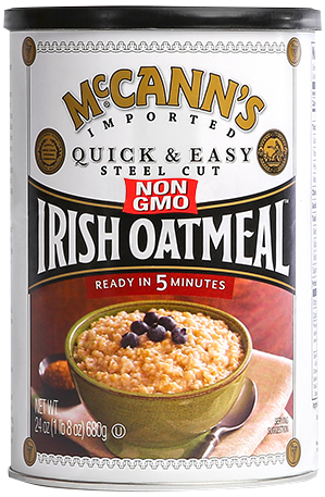 McCann's Irish Oatmeal Can GMO