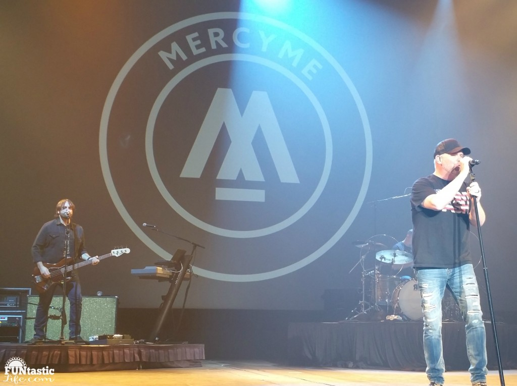 MercyMe performing - Funtastic Life