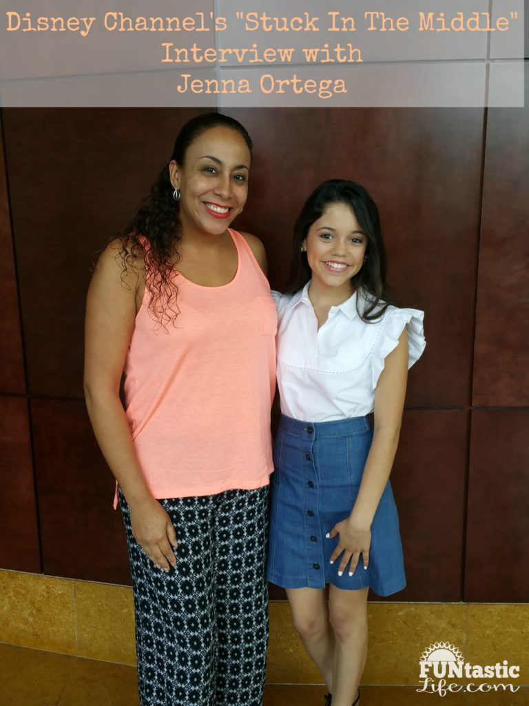 Stuck In The Middle Interview with Jenna Ortega