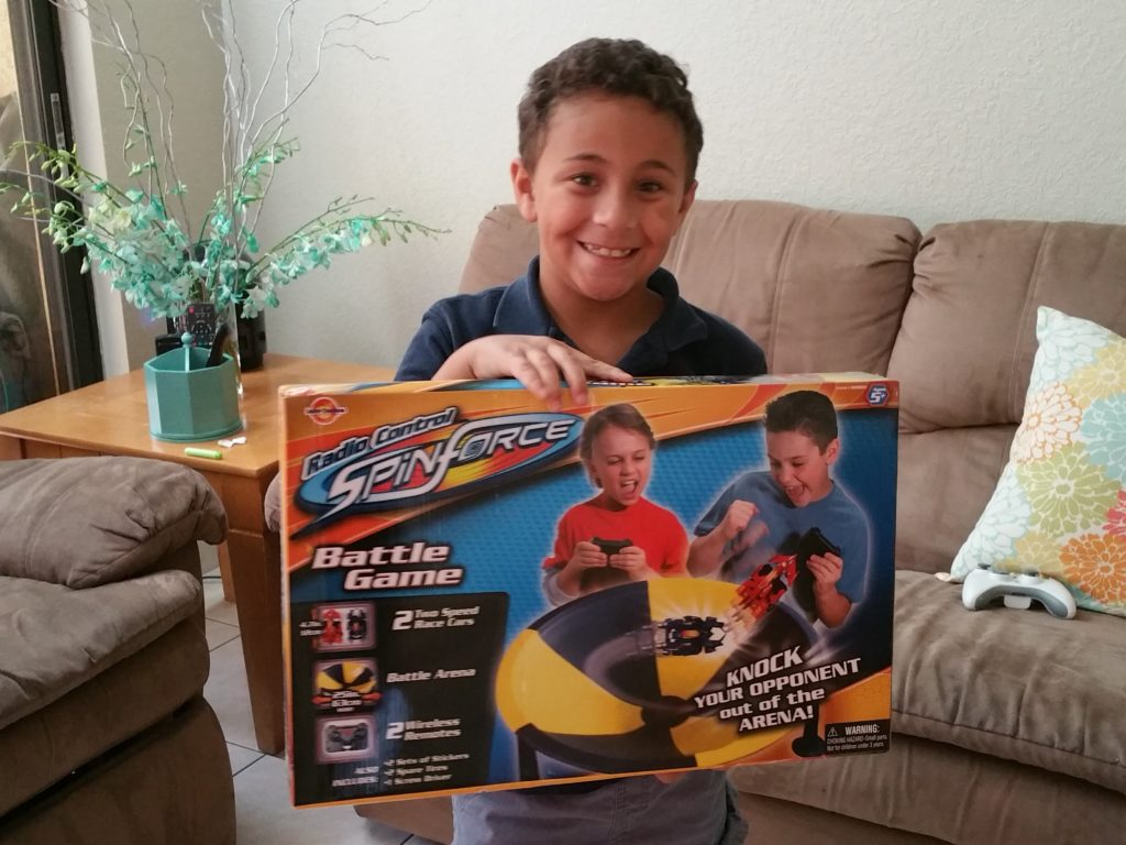 Radio Control Spin Force Battle Game