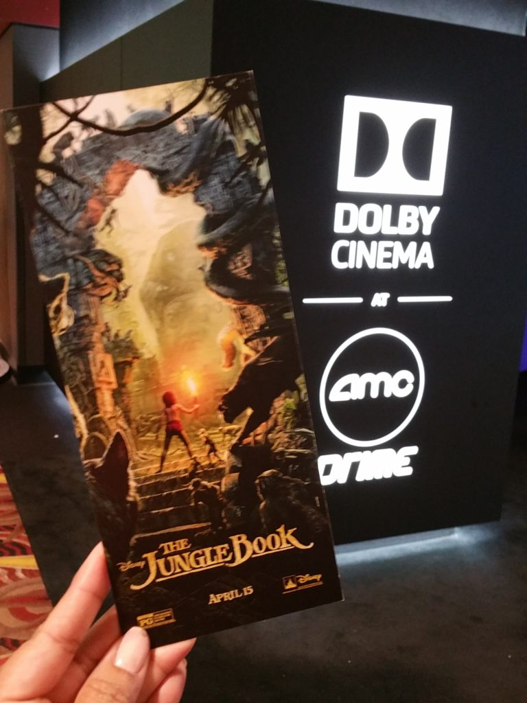 The Jungle Book Dolby Cinema Experience