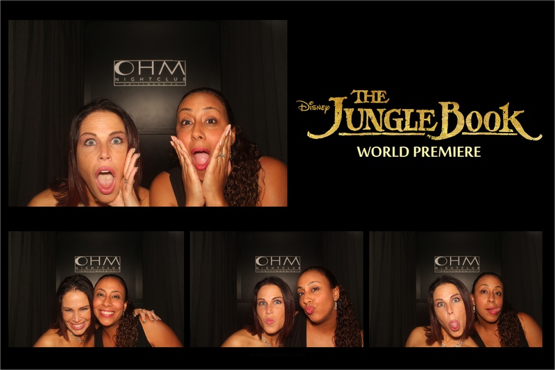 The Jungle Book World Premiere Party Photo Booth 2