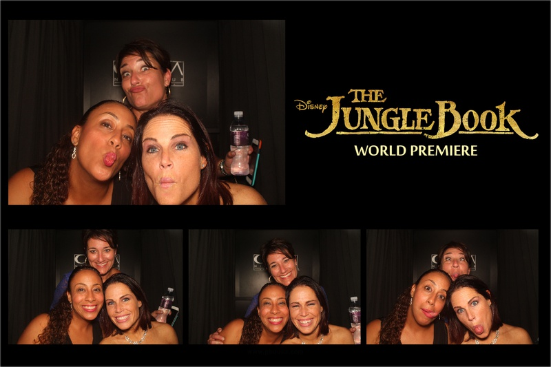 The Jungle Book World Premiere Party Photo Booth