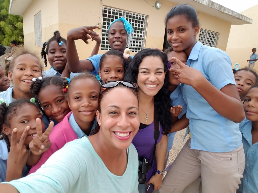 World Vision School Selfie