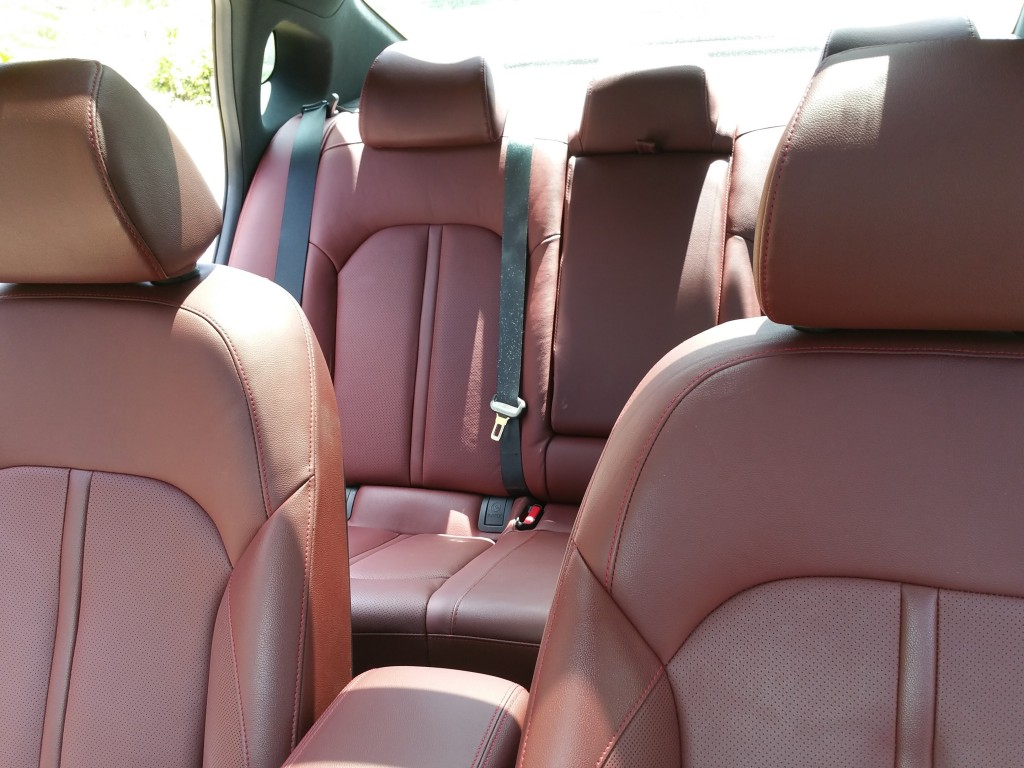 Kia Optima SX Turbo Seats