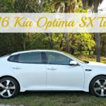 The 2016 Kia Optima SX Turbo Is Stylish