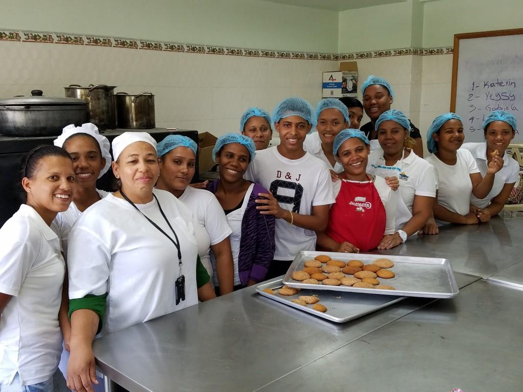 World Vision Vocational Training Baking Class
