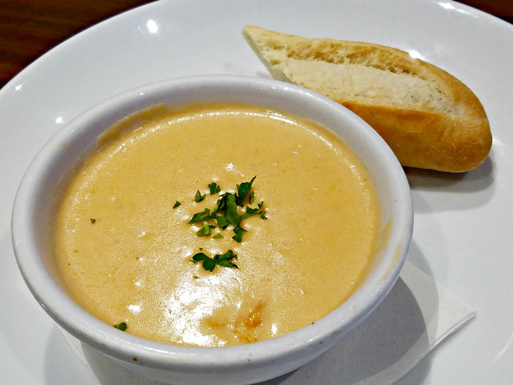 Duffy's Sports Grill Lobster Bisque