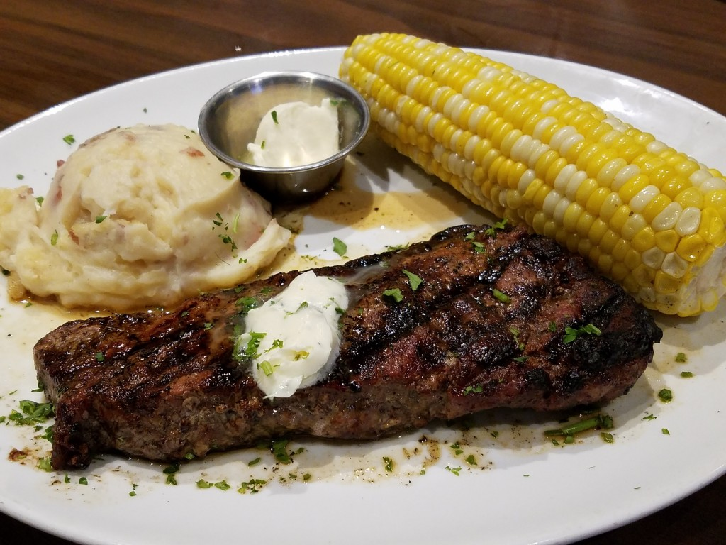Duffy's Sports Grill Prime NY Strip