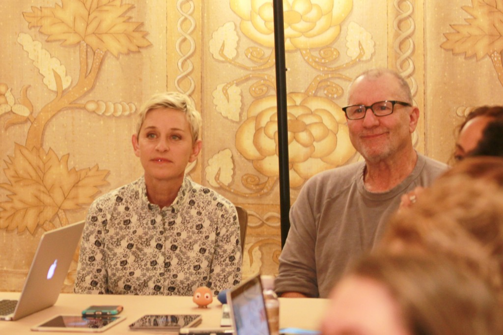 Finding Dory Interview with Ellen DeGeneres and Ed O'Neill