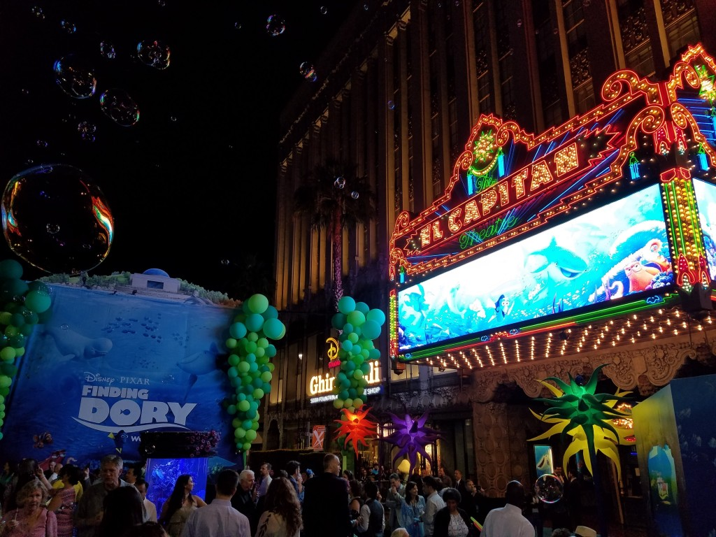 Finding Dory World Premiere Party