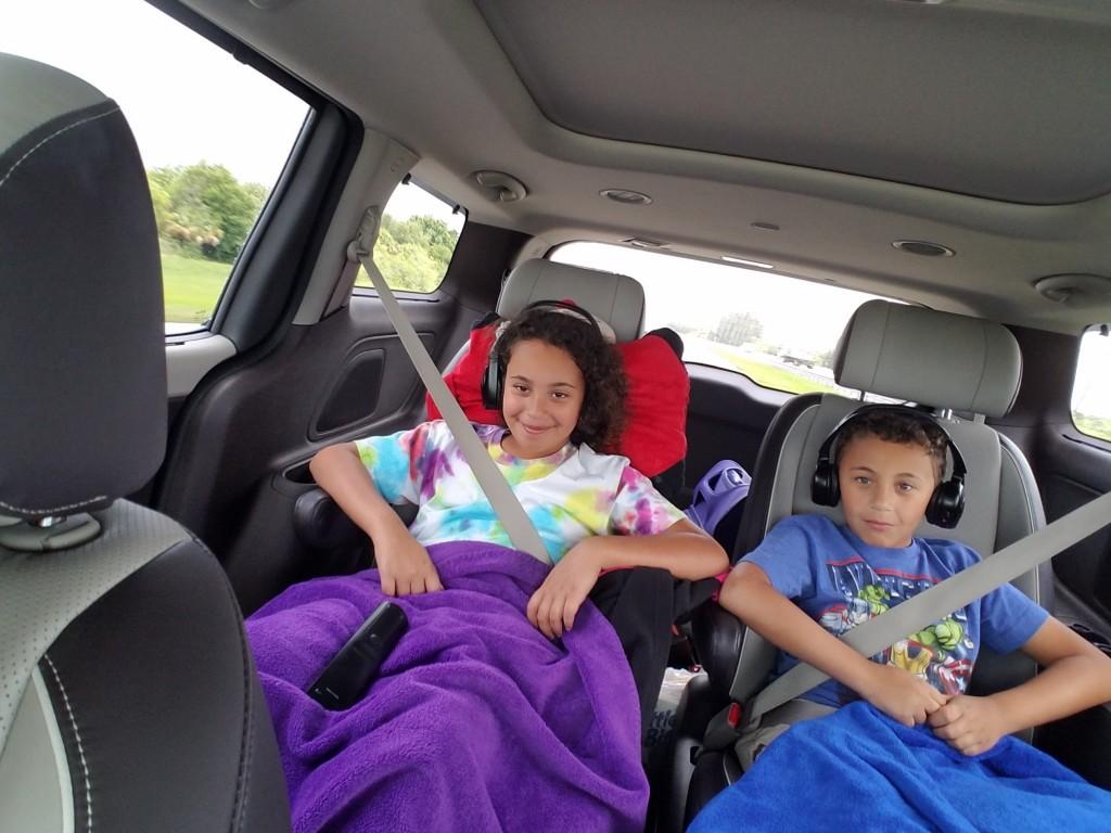 Kids in the Kia Sedona
