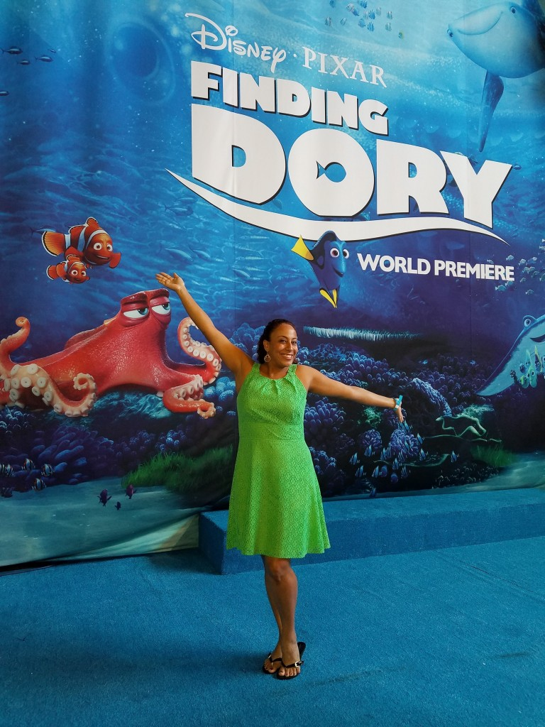 Leanette at the Finding Dory World Premiere