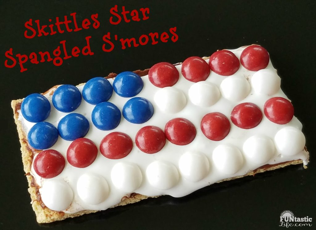 Star Spangled S'mores Recipe