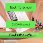 2016 Back To School $1000 Giveaway