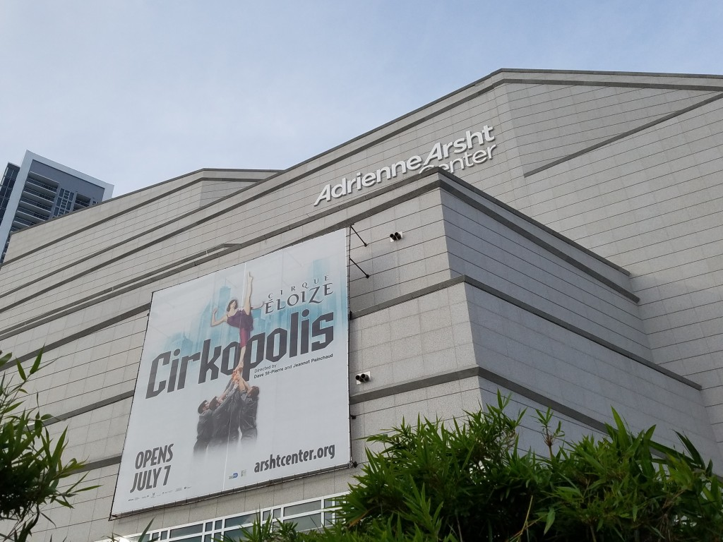Cirkopolis at the Arsht Center