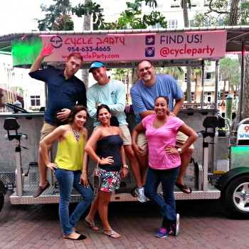 A Cycle Party Lets You Experience Fort Lauderdale in a Fun and Unique Way