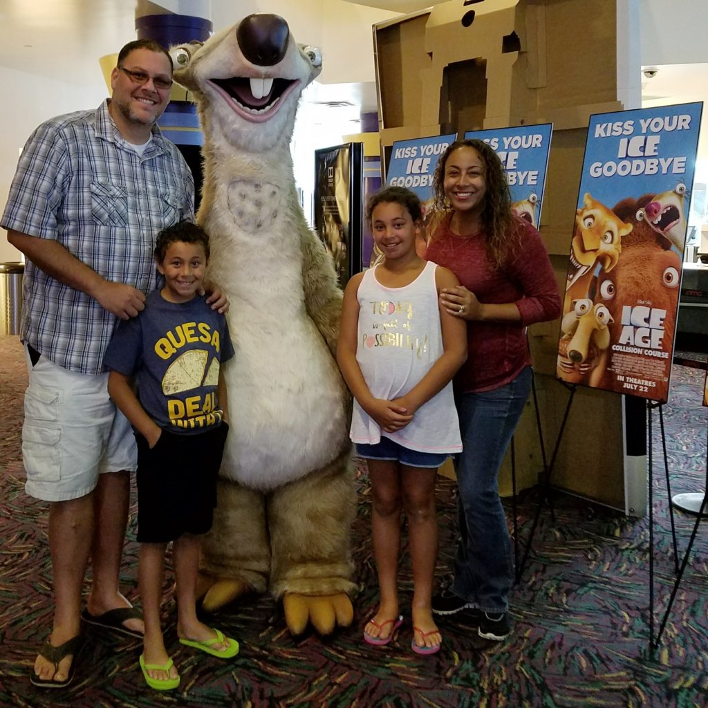 Fernandez Family with Sid