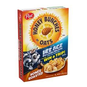Ice Age: Collision Course Post Honey Bunches of Oats Giveaway