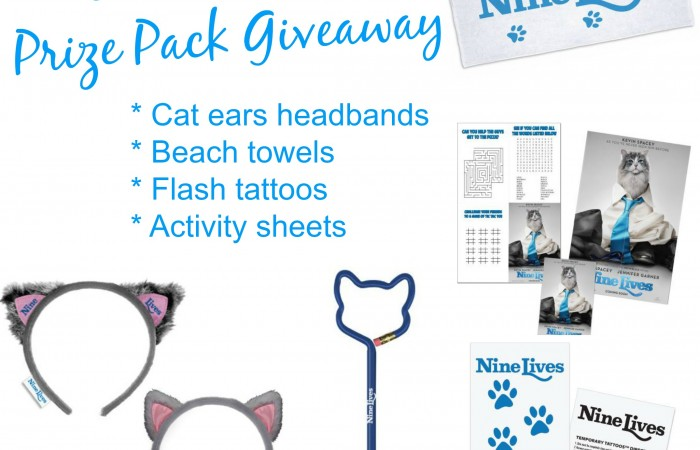 Nine Lives Prize Pack Giveaway