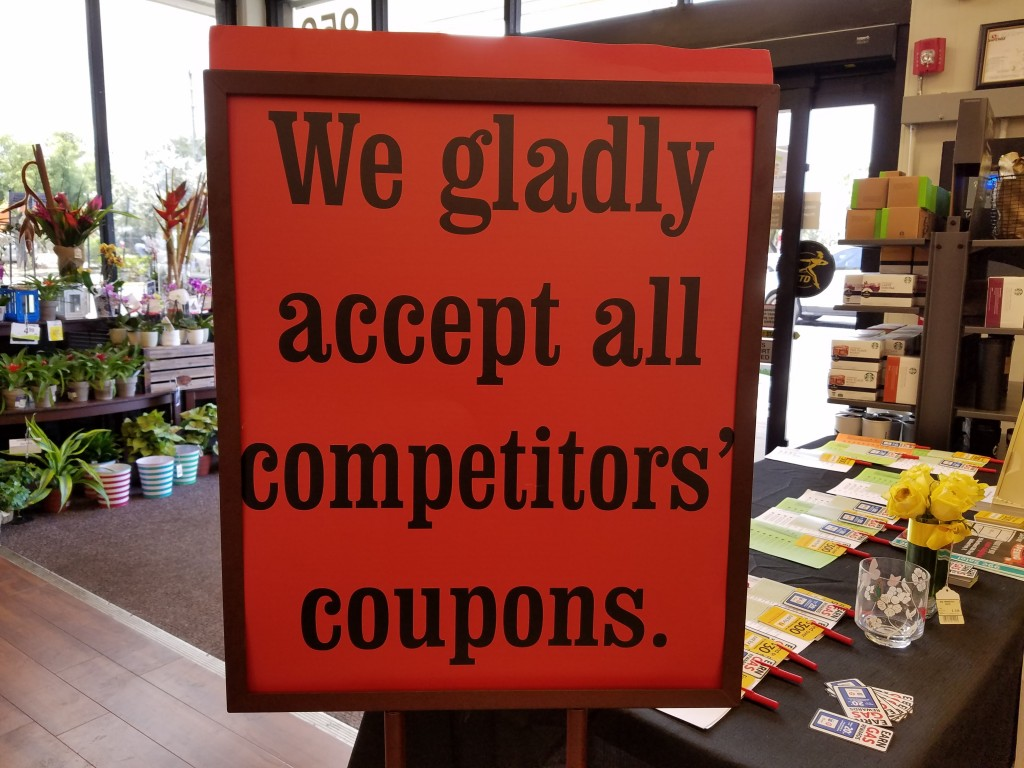 Safeway Stores Competitor Coupon Policy