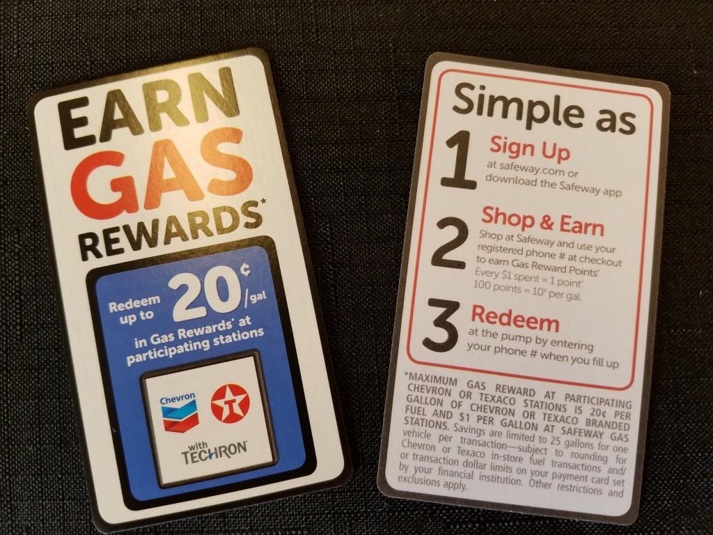 Safeway Stores Gas Rewards