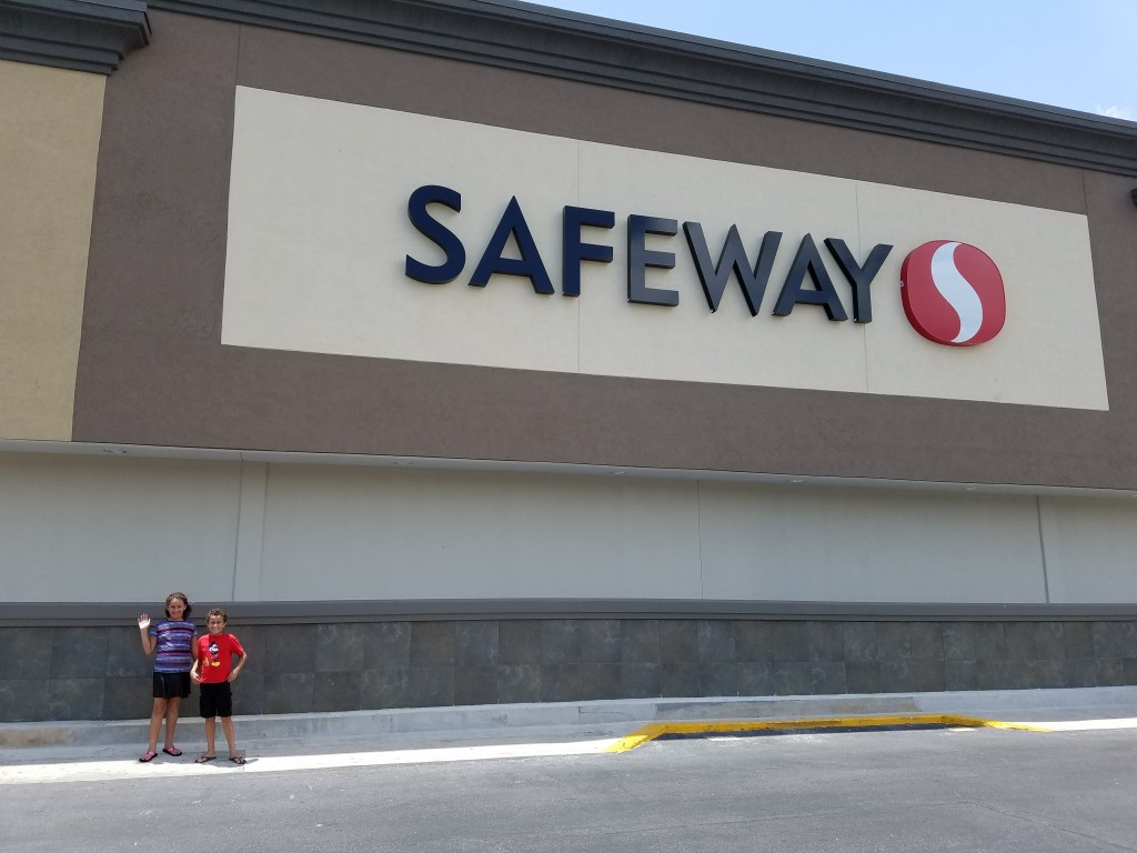 Visiting a Safeway store