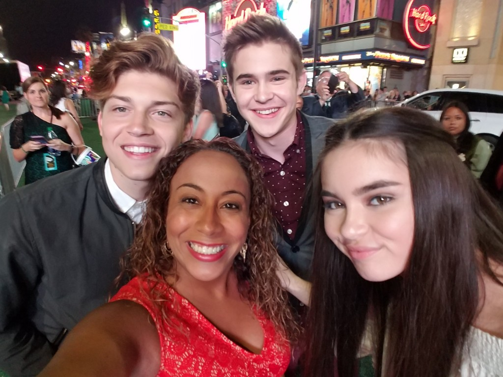 Best Friends Whenever Cast and Leanette Fernandez