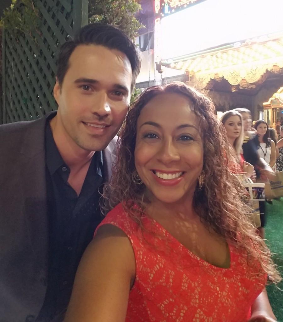 Brett Dalton and Leanette Fernandez