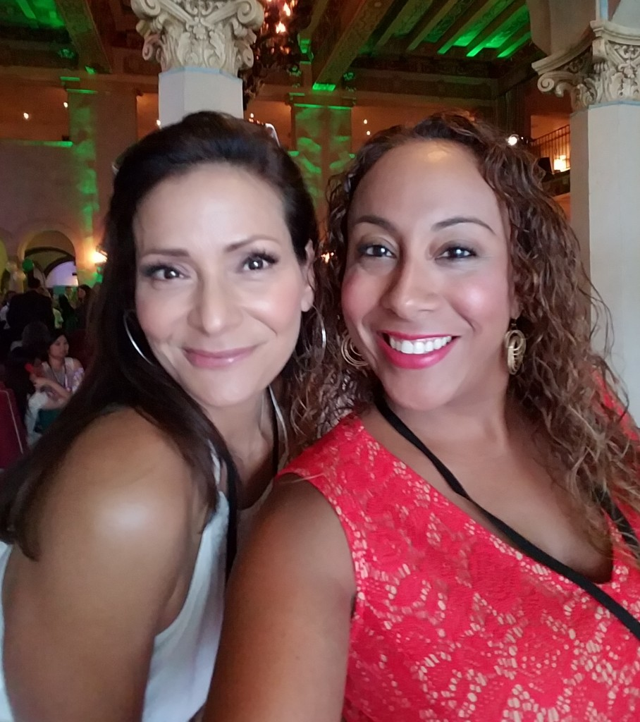 Constance Marie and Leanette Fernandez