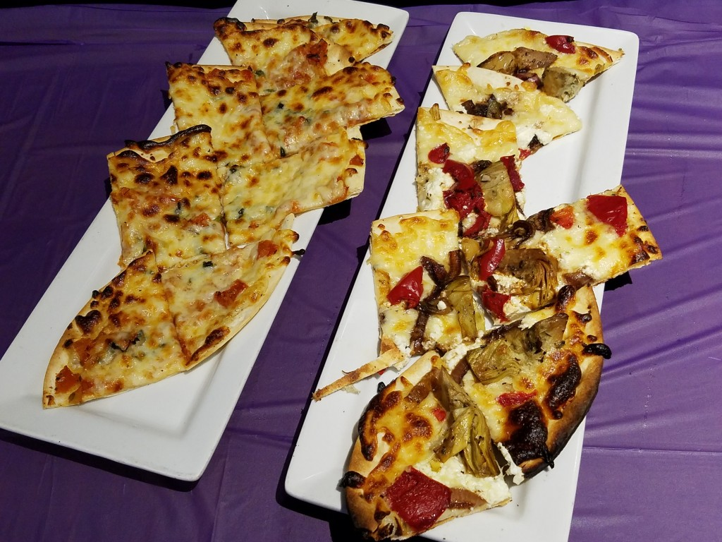 Duffy's Sports Grill Flat Bread Pizzas