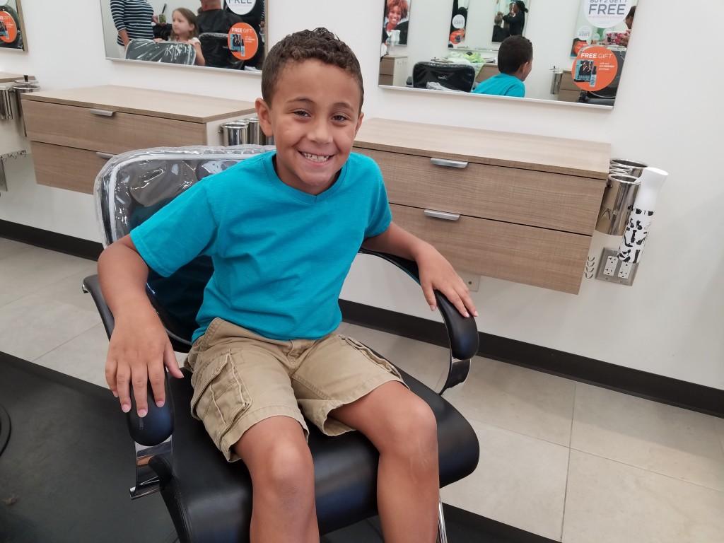 His Hair Cuttery Haircut 2016