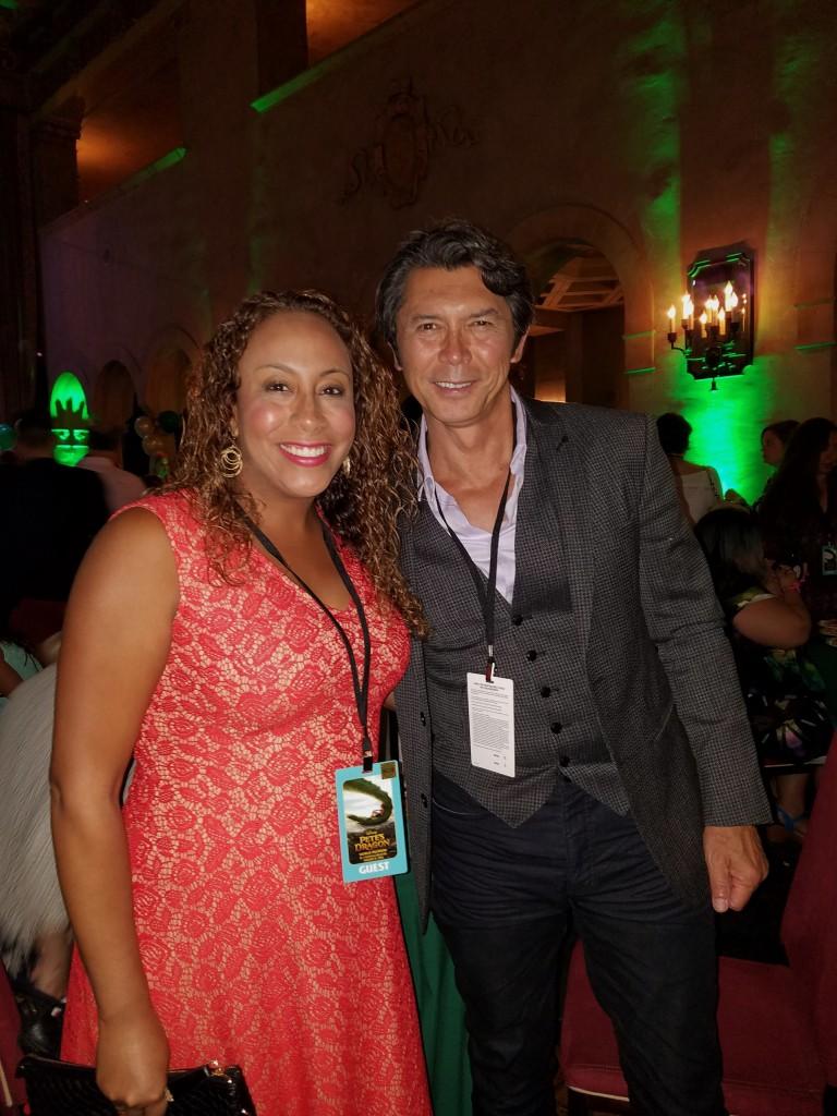Lou Diamond Phillips and Leanette Fernandez