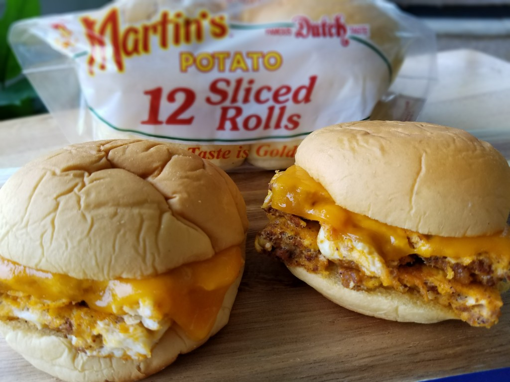 Martin's Famous Potato Rolls Breakfast Sandwich