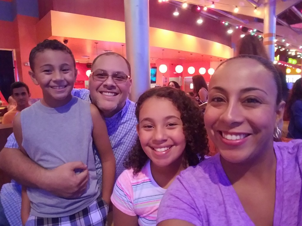 family-pic-at-bowlero-miami
