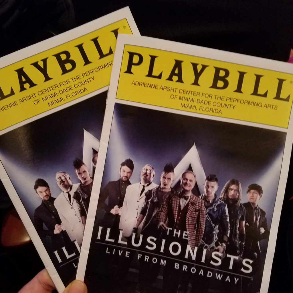 the-illusionists-playbill