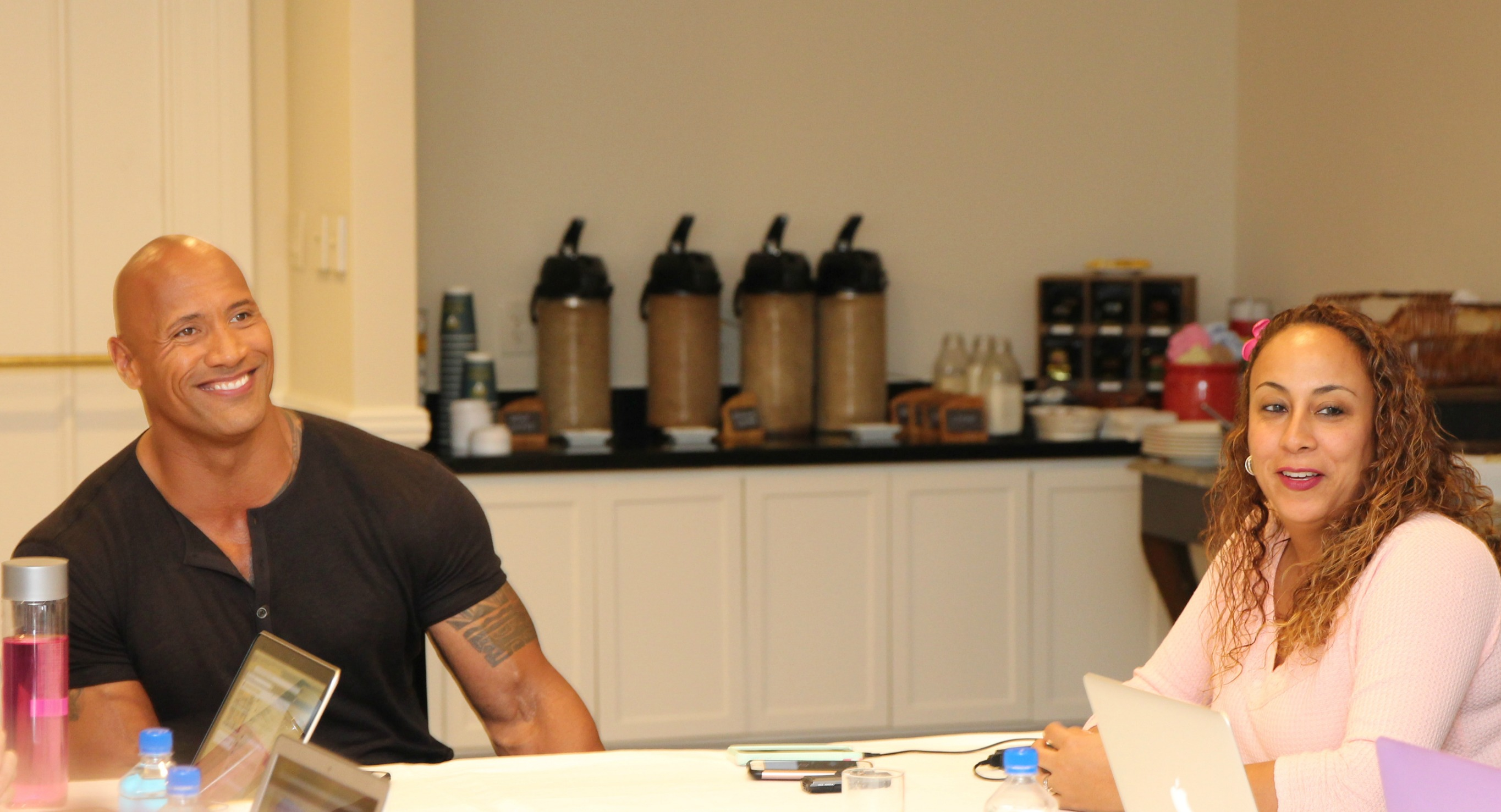 That Time I Made Dwayne Johnson A K A Quot The Rock Quot Sweat