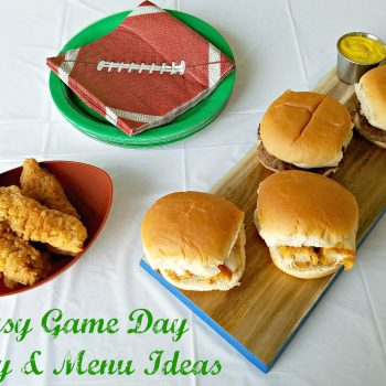 Easy Game Day Party & Menu Ideas