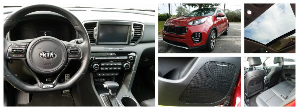2017 Kia Sportage Features
