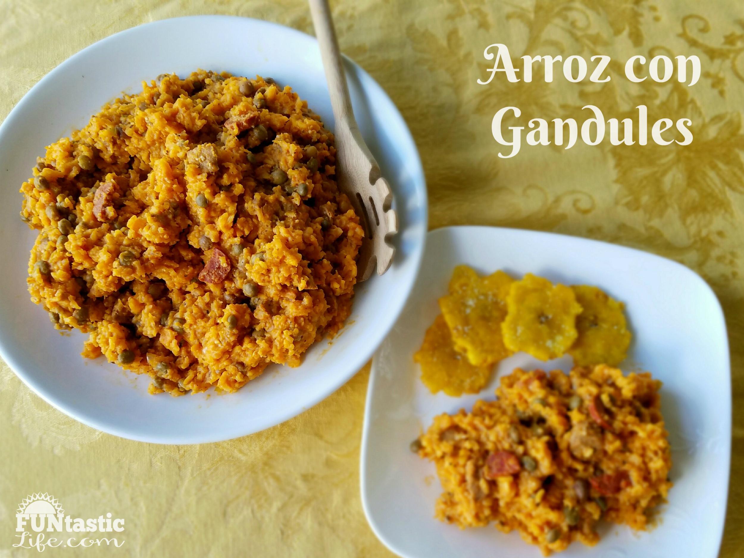 Arroz Con Gandules Recipe (Rice and Pigeon Peas ...