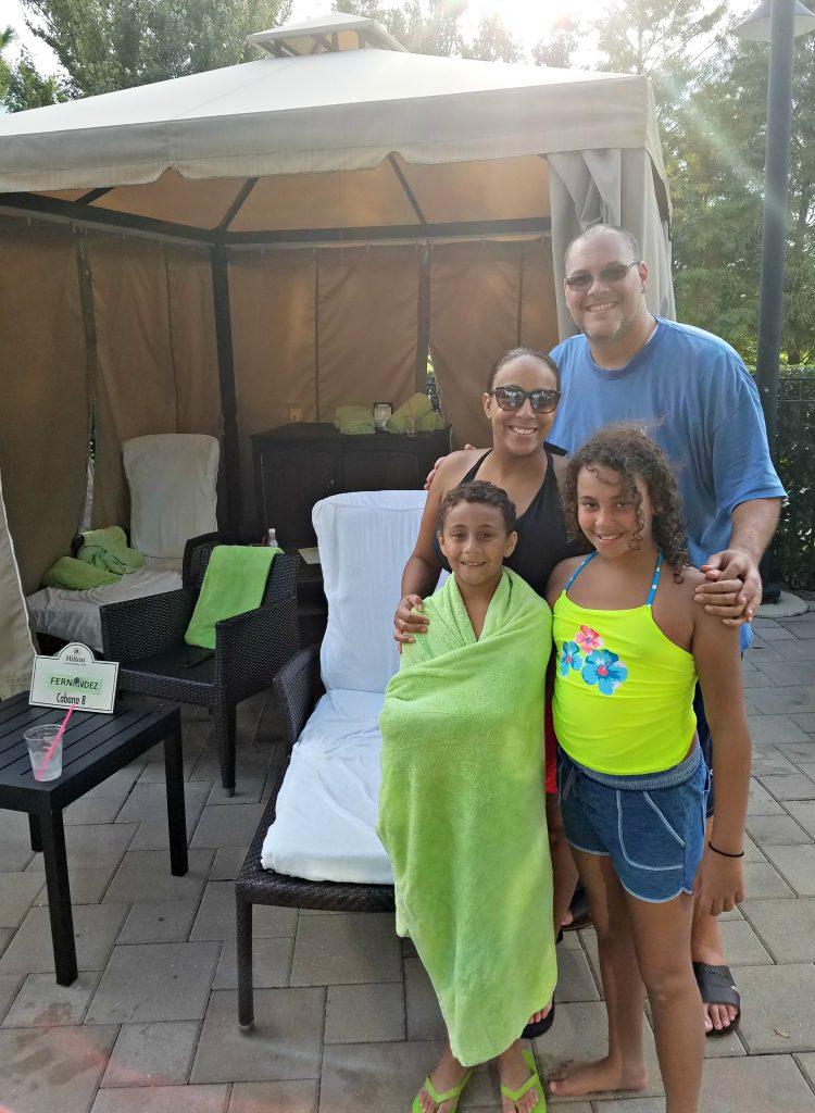 Hilton Orlando Bonnet Creek Cabana