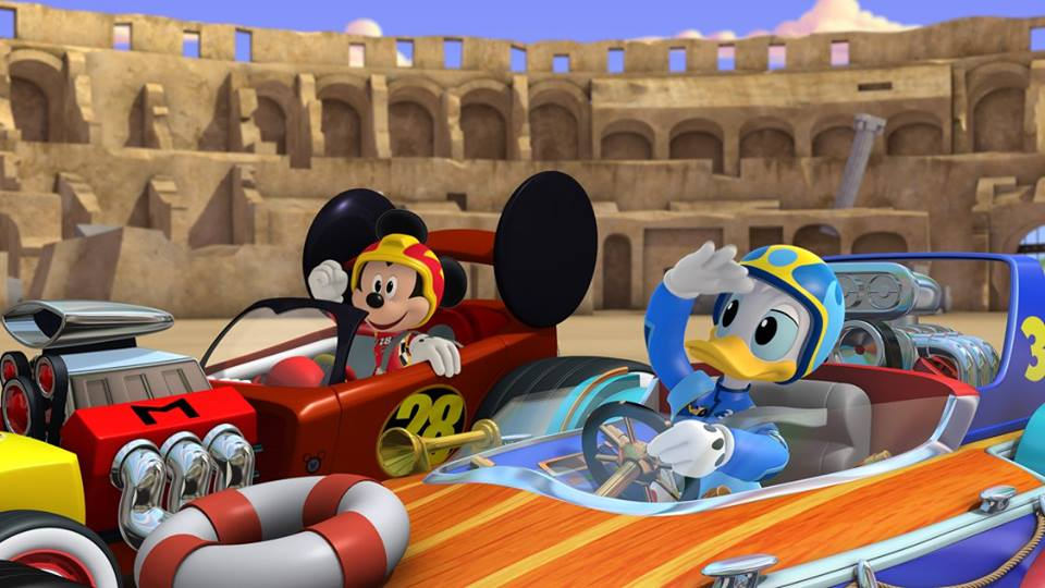 Mickey and the Roadster Racers - Mickey and Donald