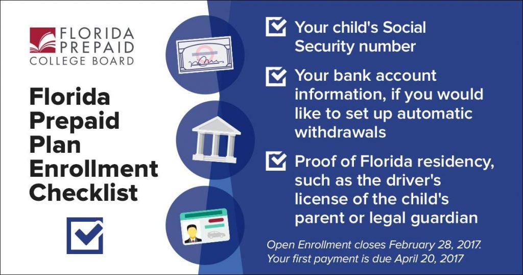 florida prepaid checklist