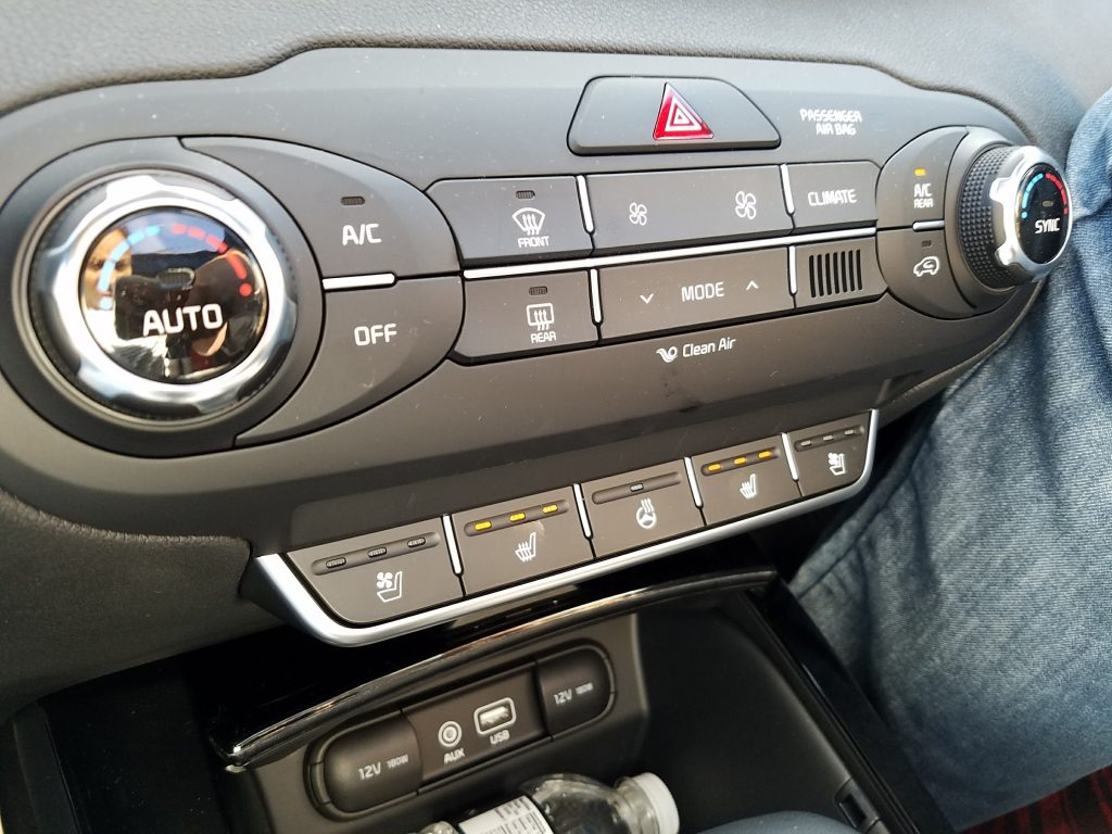 2018 Kia Sorento Seat Warmers