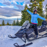 Snowmobiling in Lake Tahoe