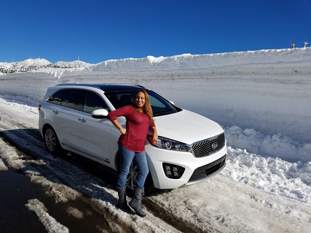 Leanette and the 2018 Kia Sorento