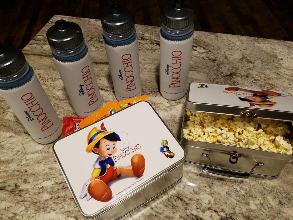 Pinocchio Movie Night Snacks